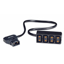 Maxell 261500 Professional 4-Way Power Tap Compatible Connector
