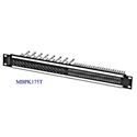 Switchcraft MBPK175T 16-Point Video / 48-Point Audio Patchbay