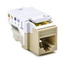 Hellermann Tyton MCAT5EI CAT5e 110 Punchdown Keystone Module - Ivory