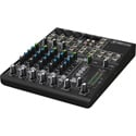 Mackie 802VLZ4 Ultra Compact 8-Channel Mic/Line Audio Mixer with Onyx Preamplifi