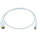 Mini DisplayPort to HDMI with Audio Adapter Cable - White - 6-Foot