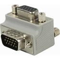 9-Pin Right Angle VGA Adapter - Cable Exit 2