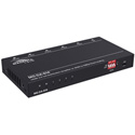 Magenta Research MG-DA-614 1x4 4K60 HDMI 2.0 Ultra slim Splitter with HDCP 2.2 and Down Scaling