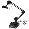 Miktek ProCast SST USB Microphone With 24 Bit Audio Interface and 2-Channel Mixe