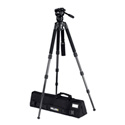 Miller 2020 Compass 15 Solo 3-Stage Carbon Fiber Tripod System