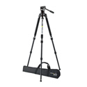 Miller 3001 Air Tripod System A with Solo 75 2-Stage Alloy Tripod 1630 - No Carry Strap