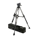 Miller 3043 ArrowX 3 Sprinter II 2-Stage Carbon Fiber Tripod System with Mid-Level Spreader