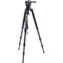 Miller 3790 CX18 Promo - Solo 100 3 Stage Carbon Fiber Tripod Kit - Payload up to 35lbs