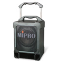 MiPro MA-707PADM 100-Watt Portable PA System w/CD Player & 6A Wireless Rx