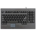 USB Keyboard With Touch Pad For Rack Drawers - Black
