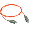 5-Meter 62/125 Fiber Optic Patch Cable Multimode Simplex SC to SC - Orange