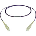 Camplex MMSM4-SC-SC-002 OM4 10/40/100G Multimode Simplex SC to SC Fiber Patch Cable - Purple 2 Meter