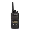 MotorolaRMU2080D Audible Channel Announcement w/Voice UHF 8-Channel 2-Watt Radio - Rechargeable Li-ion Battery