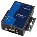 Moxa NPORT 5110 Rigid 1 Port Device Server 10/100M Ethernet RS-232 DB9 Male 15KV ESD 12-48 VDC