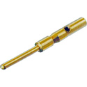 Neutrik MPC - Male Crimp Contact - Gold Plated - for Cable and Chassis Connectors