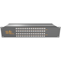 Matrix Switch MSC-2HD2408L 3G/HD/SD-SDI 24x8 2RU Routing Switcher -Button Ctrl
