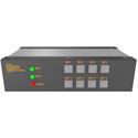 Matrix Switch MSC-FS44FBL 4 SFP Input 4 BNC Output 3G-SDI Mini Switcher w/ Button Panel - Fiber/SFP Modules not included