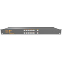Matrix Switch MSC-HD121AAL 12 Input 1 Output 3G-SDI Video Router With Button Pan