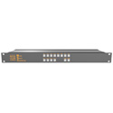 Matrix Switch MSC-HD84DEL 8 Input 4 Output 3G-SDI Video Router With Button Panel and AES Audio