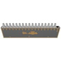 Matrix Switch MSC-HDDA16 3G/HD/SD-SDI 16 Output Distribution Amplifier