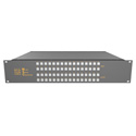 Matrix Switch MSC-V3232L 32 Input/32 Output Composite Analog Video Router with Button Panel