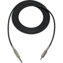 Mogami Audio Cable 1/4-In TRS Male to 3.5mm TRS Male 100 Foot - Black