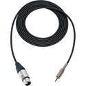 Mogami Cable XLR Female to 3.5mm TRS Male 100 Foot - Black