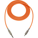 Mogami Audio Cable 1/4-In TS Male to 3.5mm Mini TRS Male  10 Foot - Orange