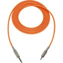 Mogami Audio Cable 1/4-In TS Male to 3.5mm Mini TRS Male  6 Foot - Orange