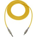 Mogami Audio Cable 1/4-In TS Male to 3.5mm Mini TRS Male  75 Foot - Yellow