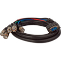 DB9M TO 5 BNC Double Shielded Cable - 6feet