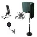Audio-Technica AT2020 USB Microphone Desktop Pack