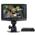 Delvcam DELV-HD7 HDMI 7-Inch LCD Monitor with 3G HD-SDI to HDMI Converter Kit
