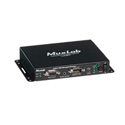 MuxLab 500174 Active VGA Managed Receiver - Dual Head