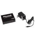 Muxlab 500431 HDMI to HDMI with Audio Extraction/ UHD-4K
