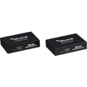 MuxLab 500454 HDBASE-T HDMI Over CAT5e/6/7 Extender Kit with RS232