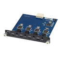 MuxLab 500475-SA HDMI 4-Channel Output Card with Stereo Audio Out