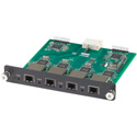 Muxlab 500477 4 Channel Fiber Output Card