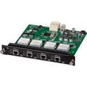 Muxlab 500483-I 4 Channel HDBT Input Card / PoE / UHD-4K