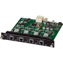 Muxlab 500483-O 4 Channel HDBT Output Card / PoE / UHD-4K