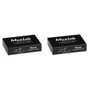 Muxlab 500756 3G-SDI Over IP Extender Kit with PoE