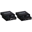 Muxlab 500757 HDMI over IP H.264 Extender Kit with PoE