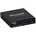 Muxlab 500765 Dante/Quad Channel Audio PoE Gateway