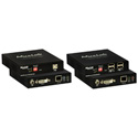 Muxlab 500771 KVM DVI over IP PoE Extender Kit