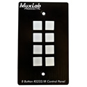 Muxlab 500816 8 Button RS232/IR Control Panel