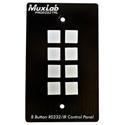 Muxlab 500816 8 Button RS232/IR Control Panel