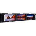 MuxLab 500840 HDMI/3G-SDI Triple LCD Display