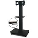 Marvel MVPFS3255DT-H Monitor Stand with Shelf & Hand Microphone