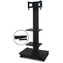 Marvel MVPFS3265DT-2H Monitor Stand with Two Shelves & Hand Microphone