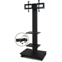 Marvel MVPFS6080DT-2E Monitor Stand with Two Shelves & Earpiece Microphone